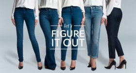 Find the perfect jeans for your body type