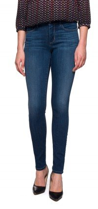 Ami Skinny Legging in medium blue Sure Stretch Denim