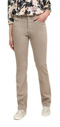 Marilyn Straight in taupe Luxury Touch Denim