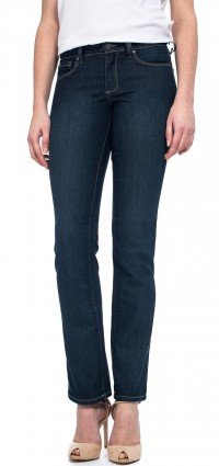 Marilyn Straight in blue lightweight denim (Petite)
