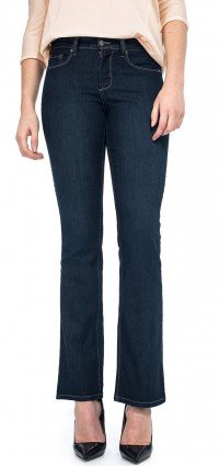 Barbara Bootcut in blue lightweight denim