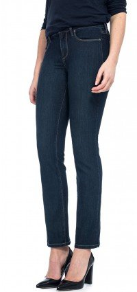 Sheri Skinny in blue lightweight denim (Petite)