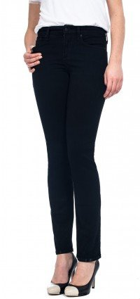 Sheri Skinny in black coloured denim (Petite)