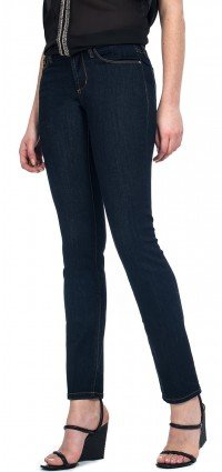 Sheri Skinny in blue premium denim (Petite)